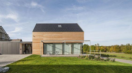 Popular Modernes Holzhaus bei Villingen Werner Ettwein GmbH Rund ums Haus Pinterest modernes Holzhaus Holzh uschen und Werner