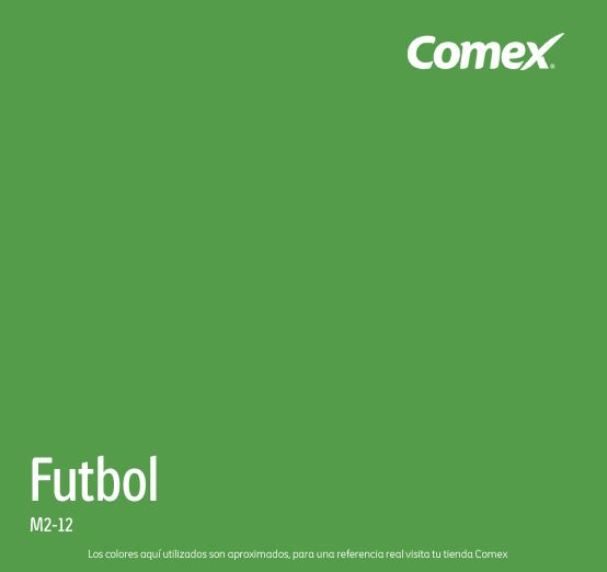Futbol and colors on pinterest for Gama de colores verdes