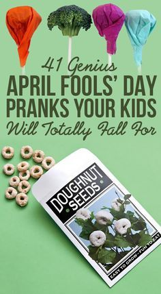 41 Genius April Fools' Day Pranks Your Kids Will Totally Fall For: