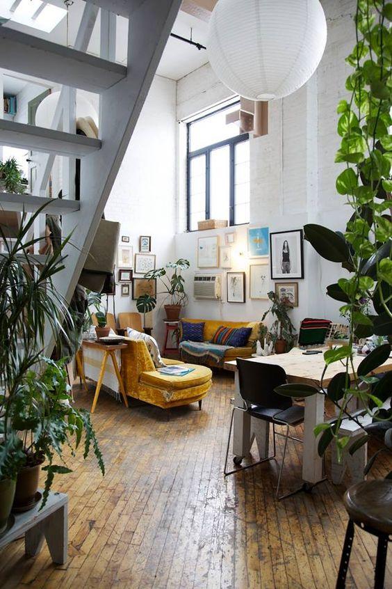 Bohemian warehouse style