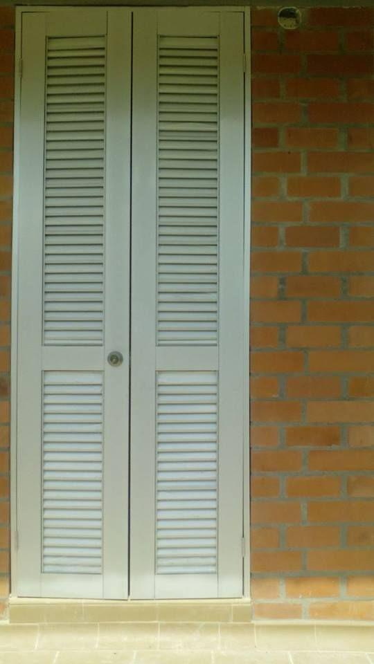 Puerta con persiana para ventilacion ventilaci n pinterest - Puertas de persiana ...