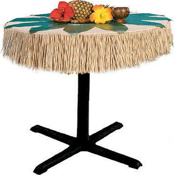 Hawaii/tropisch, Hawaiiaanse tafelrok 275 x 15 x 107 cm bij Feestwinkel Fun en Feest Belgi�. Online Hawaiiaanse tafelrok 275 x 15 x 107 cm bestellen.