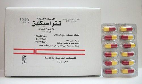 تتراسيكلين كبسولات مرهم لعلاج حب الشباب والالتهابات البكتيرية Tetracycline Ointment Capsule Boarding Pass
