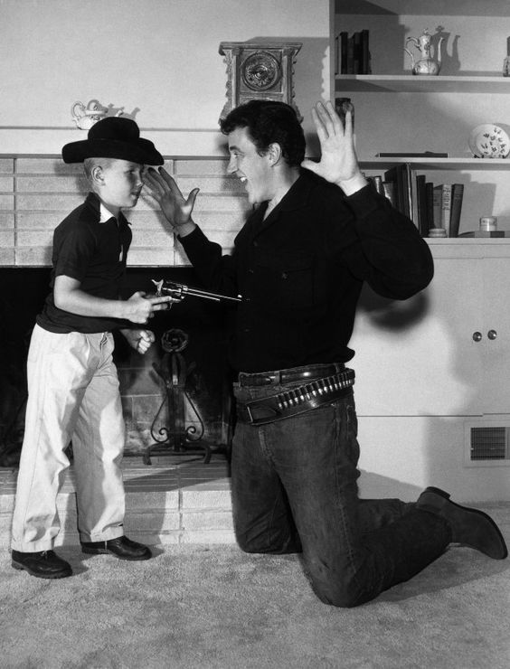 James Arness and Son Craig