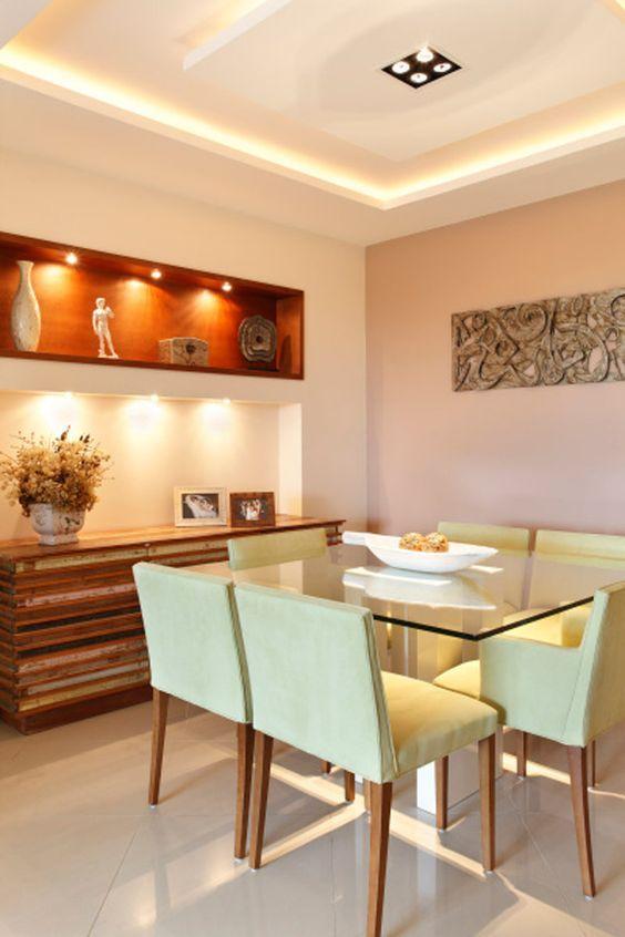50 salas de jantar projetadas por profissionais do CasaPRO - Casa: