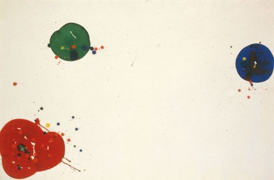 Sam Francis - Untitled (SF 64-048), 1964 acrylic on paper 69 × 102 in / 175.3 × 259.1cm