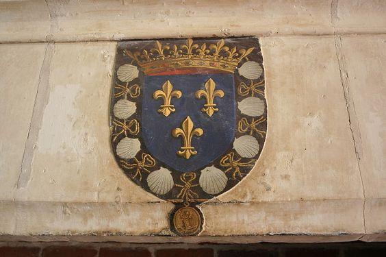 Le Clos Lucé - Amboise (Indre & Loire) - écusson: