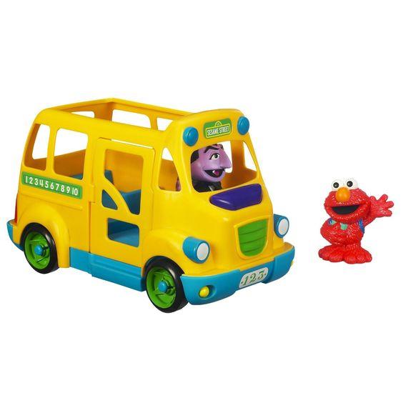 Playskool Sesame Street School Bus