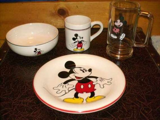 Mickey dishes