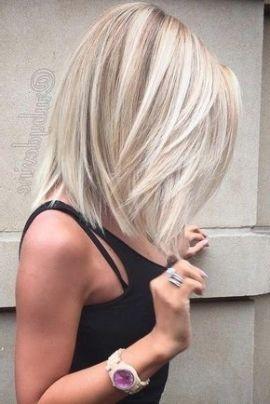 Image For Frisuren Halblang 2018 Blond Haarschnitt Mittellange Haare Mittellange Blonde Haare Haarschnitt Ideen