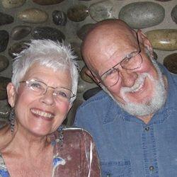 Lyle and Carolyn, artists, Chrysalis God Gourds