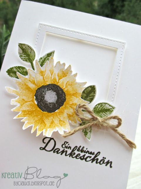 Kreativ Blog by Claudi: Sonnenblumen