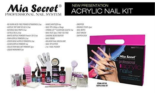 Best Acrylic Nail Kits 2020 Buyer S Guide Review Acrylic Nail Kit Acrylic Nail Set Professional Acrylic Nail Kit
