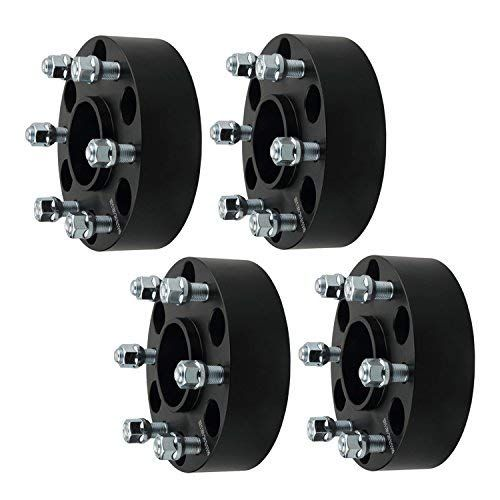 Gdsmotu 4pc Hubcentric Wheel Spacers For Chevy Gmc 6 Lug 2 Wheel Spacers 6x5 5 With 14x1 5 Studs For Chevy Express Sil Chevy Express Silverado Silverado 1500