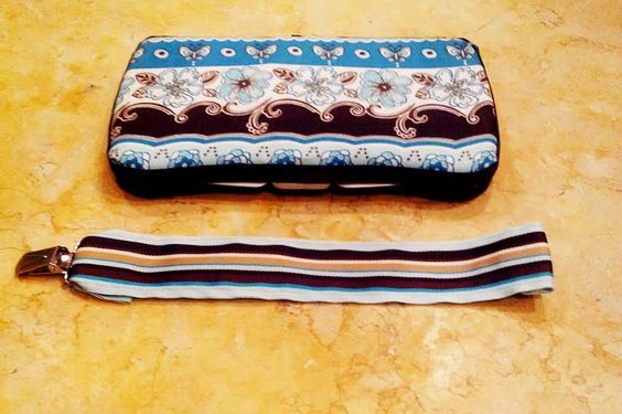 Wipe Case with Matching Binky Clip. I can make any color or theme.