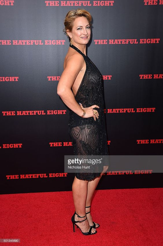 Actress Zoe Bell attends the New York premiere of 'The Hateful Eight' on December 14, 2015 in New York City.