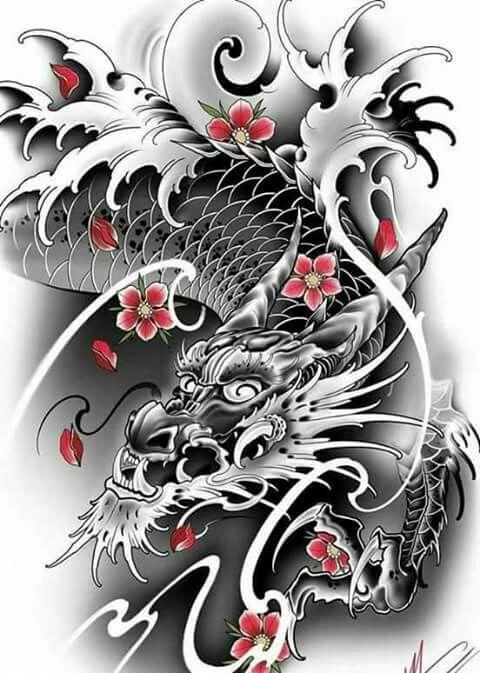 Japanese Tattoos Sleeves Japanesetattoos Asian Dragon Tattoo Japanese Tattoo Chinese Dragon Tattoos