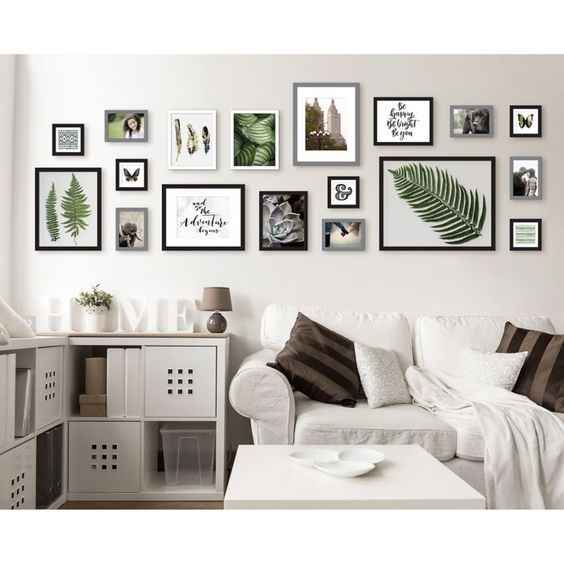 16 Wall Decorating Ideas For Living Room Molitsy Blog Gallery Wall Living Room Living Room Wall Room Wall Decor