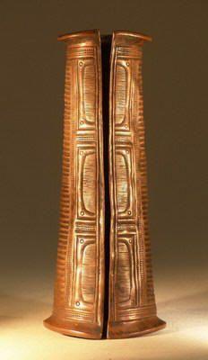 Ibo Anklet, c. 19th century    Nigeria, West Africa.