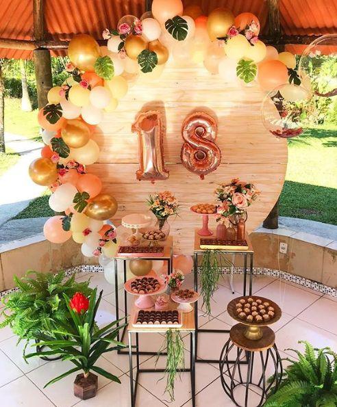 10 Ideas para tu fiesta #18thbirthday