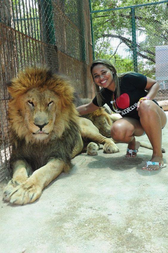 Naycha Natasha dos Santos Hyacienth @ Zoo de Lujan Argentina
