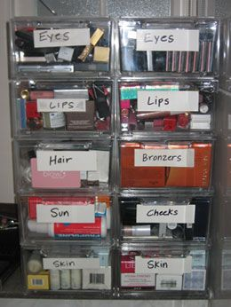 How Do You Organize Your Makeup from bella sugar