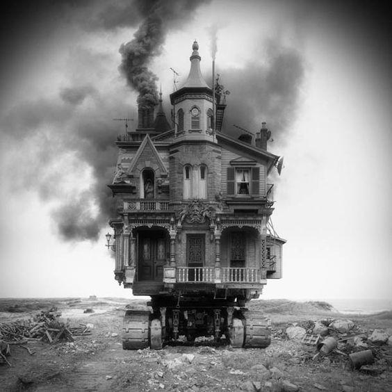 Une sélection des collages numériques de l'artiste et photographeJim Kazanjian, qui imagine desarchitecturessurréalistes dans de magnifiques compositio