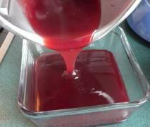 Tortenguss aus Vanille-Pudding