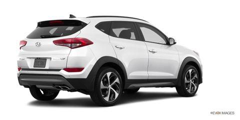 2016 Hyundai Tucson Limited Comparison Kelley Blue Book Suv