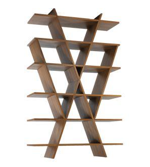 Gorgeous triangular shelving: $1,050