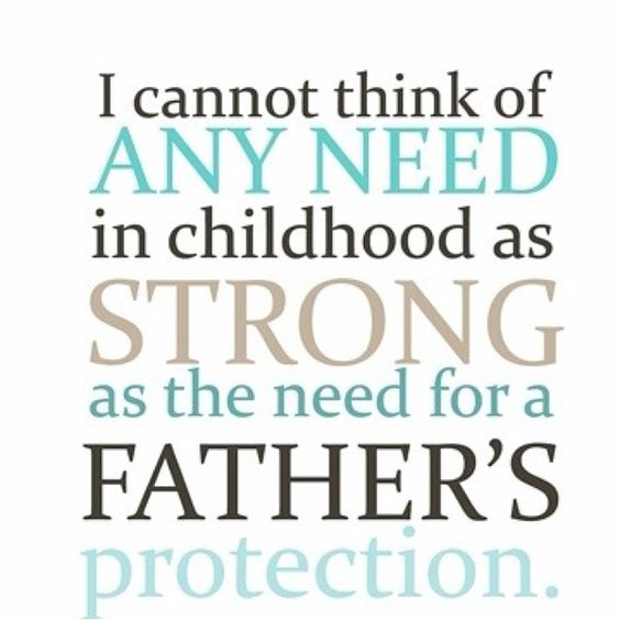a fathers protection Protecting fathers' custody rights it has been the center's experience that while  parenting opportunities for fathers have significantly.