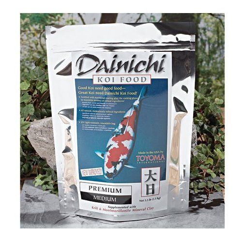 Koi Premium Medium 5 5lb By Dainichi Want Additional Info Click On The Image This Is An Affiliate Lin Fish Recipes Best Cat Food Goldfish Food