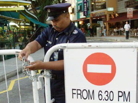 シンガポールの警官