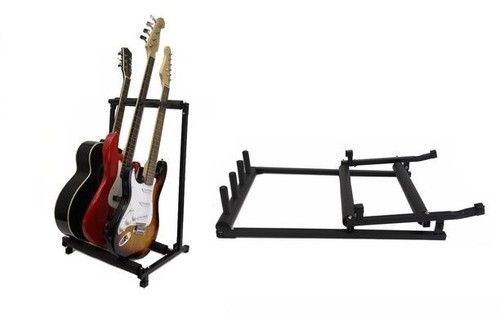 NEW - Multiple Guitar Stand / Rack / Holder / Display - Holds 3 Guitars