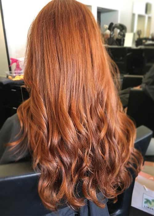 The Perfect Red Hair Color Shade For Me And It Lasts With