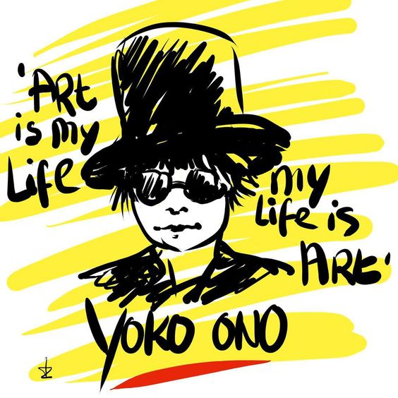 #goodmorning #sunday #instafriends #artists #designers #writers #publishers #artistic #people #fashionistas and #fashiondesigners #filmmakers #photographers #lovers #dreamers #lovers anyway #lart is my life and my #life is art quote by #yokoono i agree! Have a great day! @yokoonoofficial