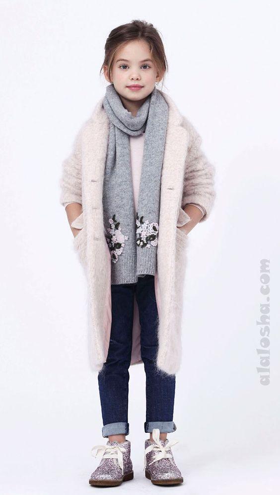 ALALOSHA: VOGUE ENFANTS: Ermanno Scervino girls collection AW'15