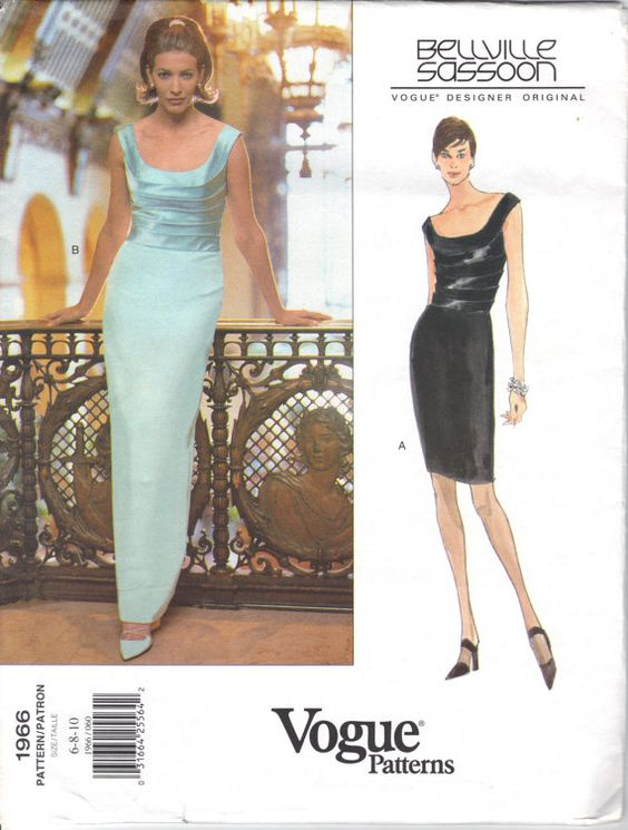 Bellville Sassoon Vogue Designer Original 1966 - UX/UI Designer ...