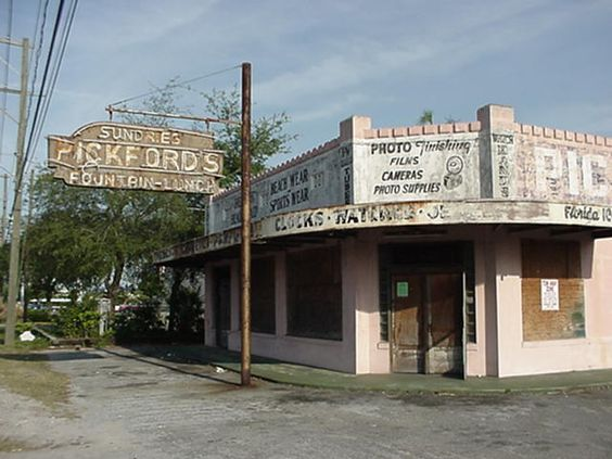 Soda Fountain Tampa Florida And Drug Store On Pinterest