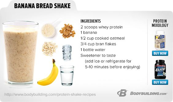 Banana Bread Shake. Try these 48 superb shakes and mix things up with ...