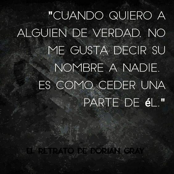 #Frases #quote #TheDavhen #ElRetratodeDorianGray