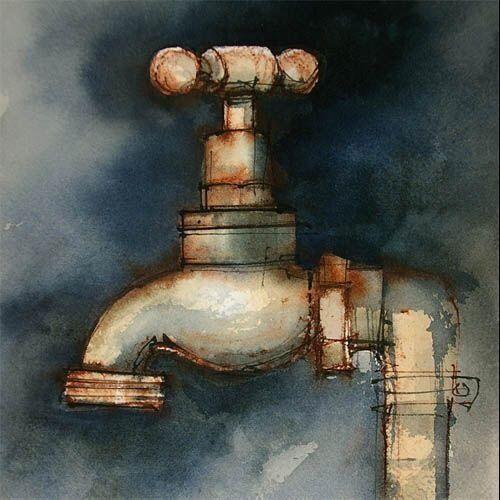 Water Color Artist John Lovett Watercolor Art Watercolor