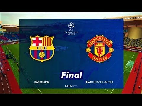 Uefa Champions League Manchester United 0 1 Barcelona As It