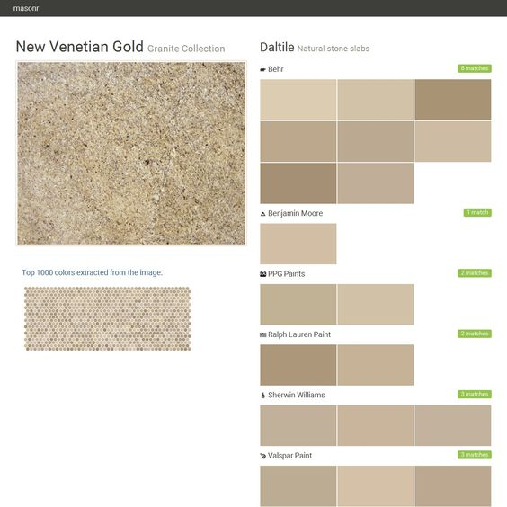 New Venetian Gold. Granite Collection . Natural Stone
