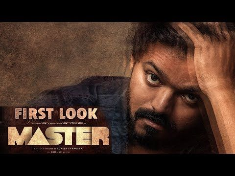Thalapathy 64 Master First Look L Vijay L Vijay Sethupathi L Lokesh Kana In 2020 Motion Poster Master Movie Creator
