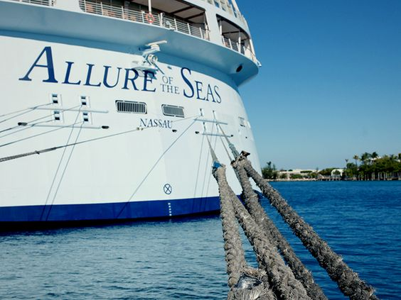 Parked in paradise. #caribbean #cruise