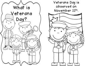 Veterans Day Freebie for Little Learners #VeteransDay www ...