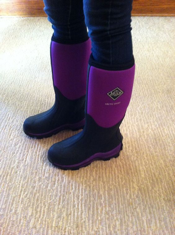 Purple muck boots | Shoe LOVE | Pinterest | Love, Muck boots and Boots
