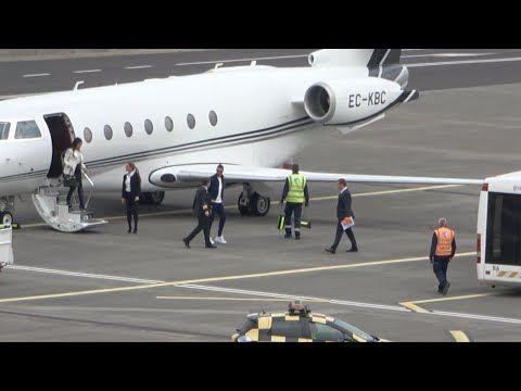 Cristiano Ronaldo Gulfstream Pousando Na Madeira Para Visitar A