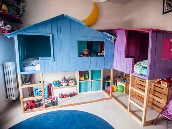 Cama-infantil-con-forma-de-casa-Ikea